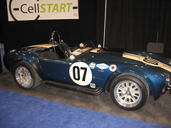 race car(1.0), automobile(1.0), vehicle(1.0), shelby daytona(1.0), vintage car(1.0), land vehicle(1.0), ac cobra(1.0), sports car(1.0),