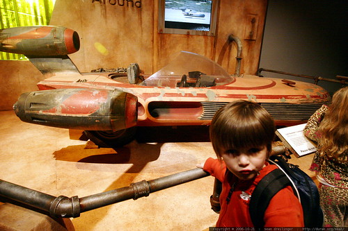 nick and the land speeder    MG 2637