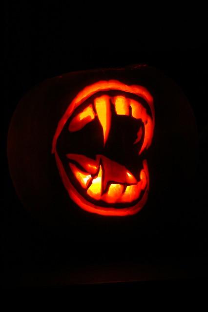 Vampire teeth dark flickr photo sharing