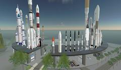 skyscraper(0.0), mosque(0.0), skyline(0.0), tower(0.0), rocket(1.0), spacecraft(1.0), vehicle(1.0), landmark(1.0), city(1.0),