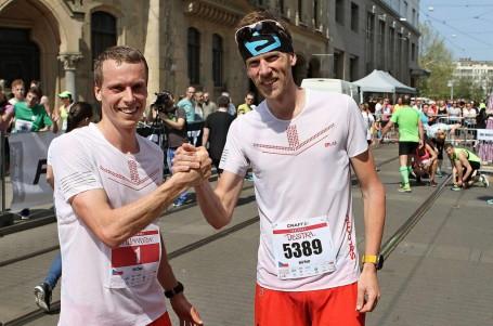 Jiří Čípa opět pokořil traťový rekord Craft Brněnského půlmaratonu