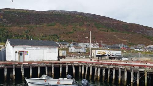 Nain loading wharf