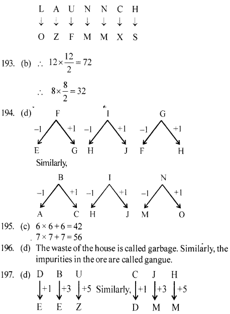 ssc-reasoning-solved-papers-analogy - 37