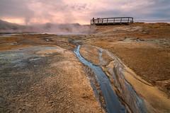 Námafjall Hverir geothermal area, Mývatn, Iceland