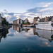 Panoramic view of the Shore, Leith