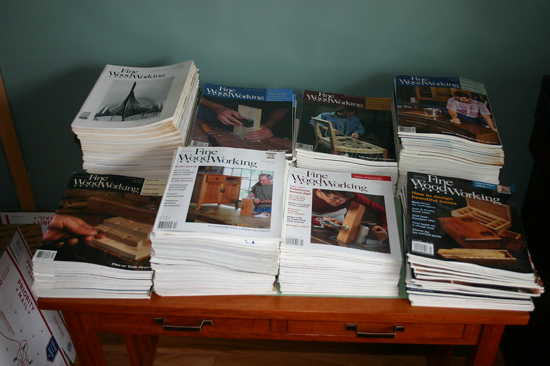 Fs Back Issues Of Fine Woodworking Magazine