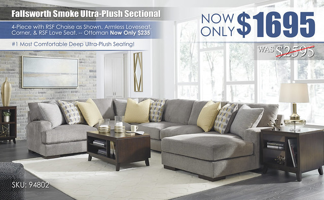 Fallsworth Smoke Ultra-Plush Sectional_new94802-55-77-34-17-T027