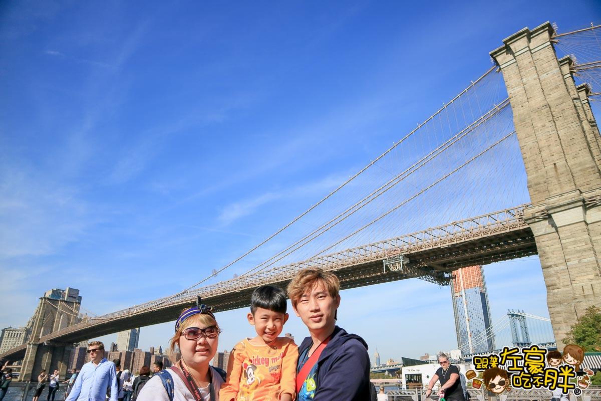 美國紐約-布魯克林大橋-19