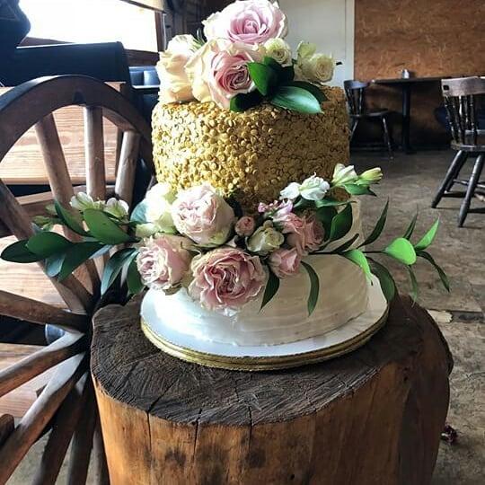 Cake by Aszha's Cottage Bakery
