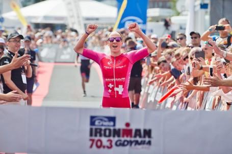 Gdyně slavila světový rekord v podání fenomenální Švýcarky