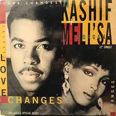 KASHIF + MELI'SA MORGAN:LOVE CHANGES(JACKET A)