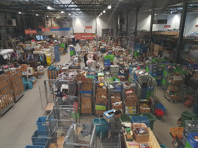 Kringloop-sorteercentrum
