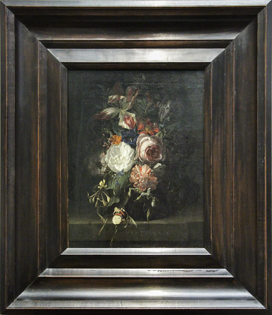 Still Life with Flowers, Rachel Ruysch, 1691