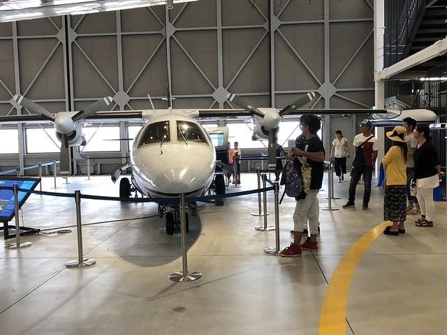 あいち航空ミュージアム パイロット職業体験 MU-2コックピット体験 JA8737 F922FF11-9EC3-41E4-9A77-93C02DA9B4FF