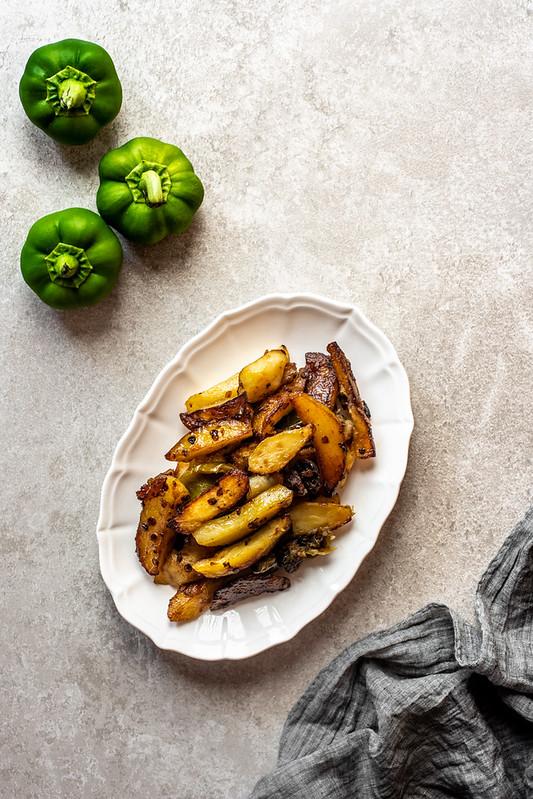 Peperoni e patate - ricetta calabrese