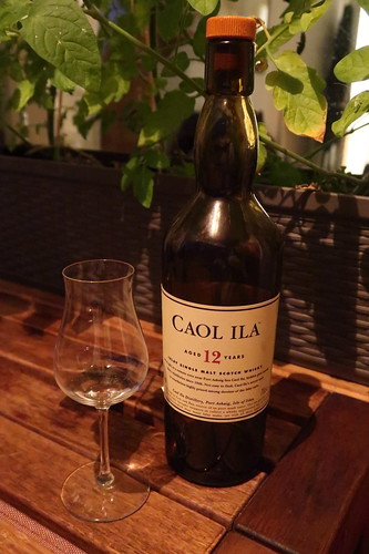 Letztes Glas vom Caol Ila (Islay Single Malt Scotch Whisky, 12 Jahre)