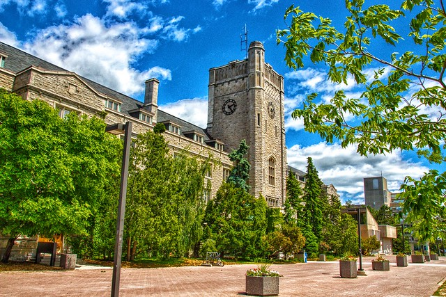 Guelph Ontario - Canada  - Johnston Hall - University of Guelph