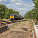 Brush Class 47 1705 passes the Mountsorrel branch at Swithland