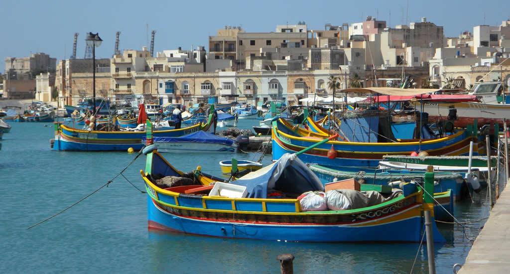 De kleurrijke vissersbootjes van Malta in Marsaxlokk | Malta & Gozo