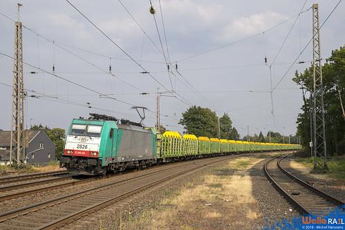 Eschweiler Hbf . 19.07.18.