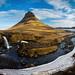 Kirkjufellsfoss & Kirkjufell by geraintparry