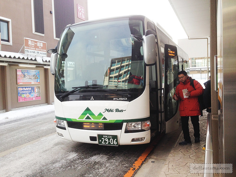 Babymoon ke Jepang - Shirakawago Nohi Bus