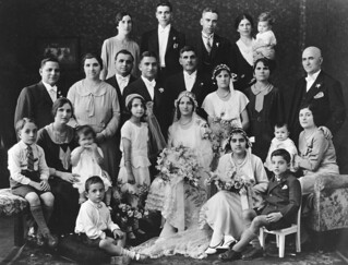 Wedding of Michael J. Londy and Angela C. Kalokerinos, Toowoomba, 1932