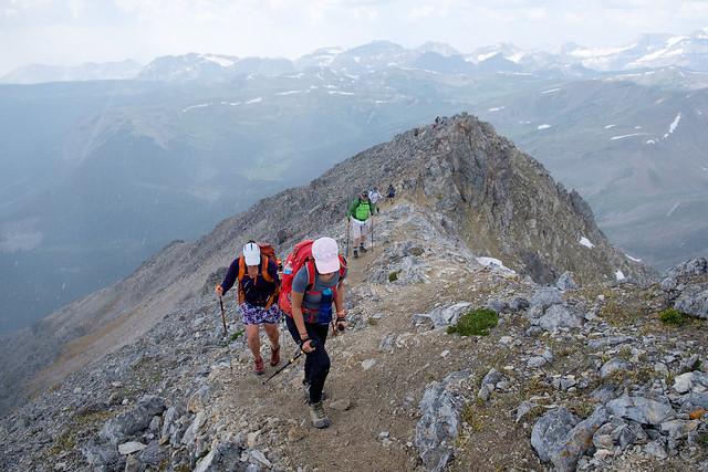 Scrambles - Mt. Bourgeau-6