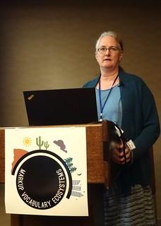 Kristen Eberlein at Markup Vocabulary Ecosystems