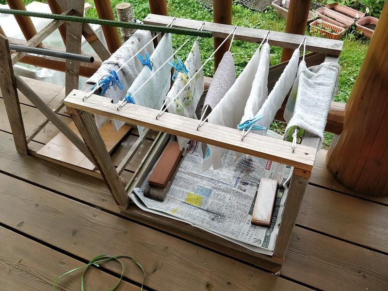 洗濯物干しをDIY (15)