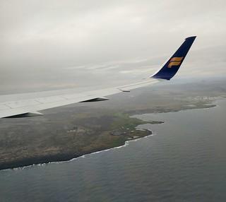 une côte bien découpée qui me rappelle fortement une autre île volcanique...