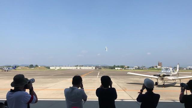 航空フェスティバル2018in愛知 空飛ぶたぬき氏 飛行展示 IMG_0756