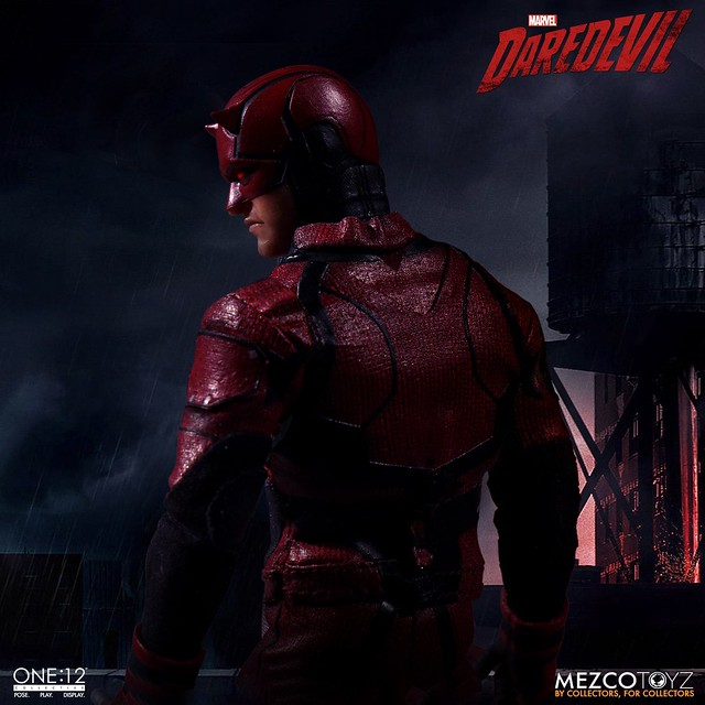 MEZCO ONE:12 COLLECTIVE 系列《夜魔俠》夜魔俠 Daredevil 1/12 比例人偶作品