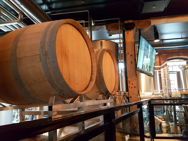 Goose Island Brewhouse Toronto beer tanks