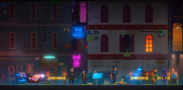 霓虹海的故事 - 犯罪現場