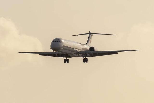 Mc Donnell Douglas MD-82 LZ-LDP Bulgarian Air Charter