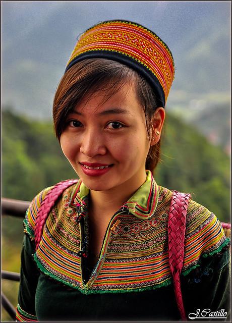 Woman in Sapa (Vietnam)
