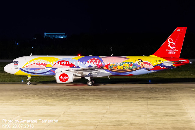 HS-BBA 'Shades of the River' // Thai AirAsia Airbus A320-214
