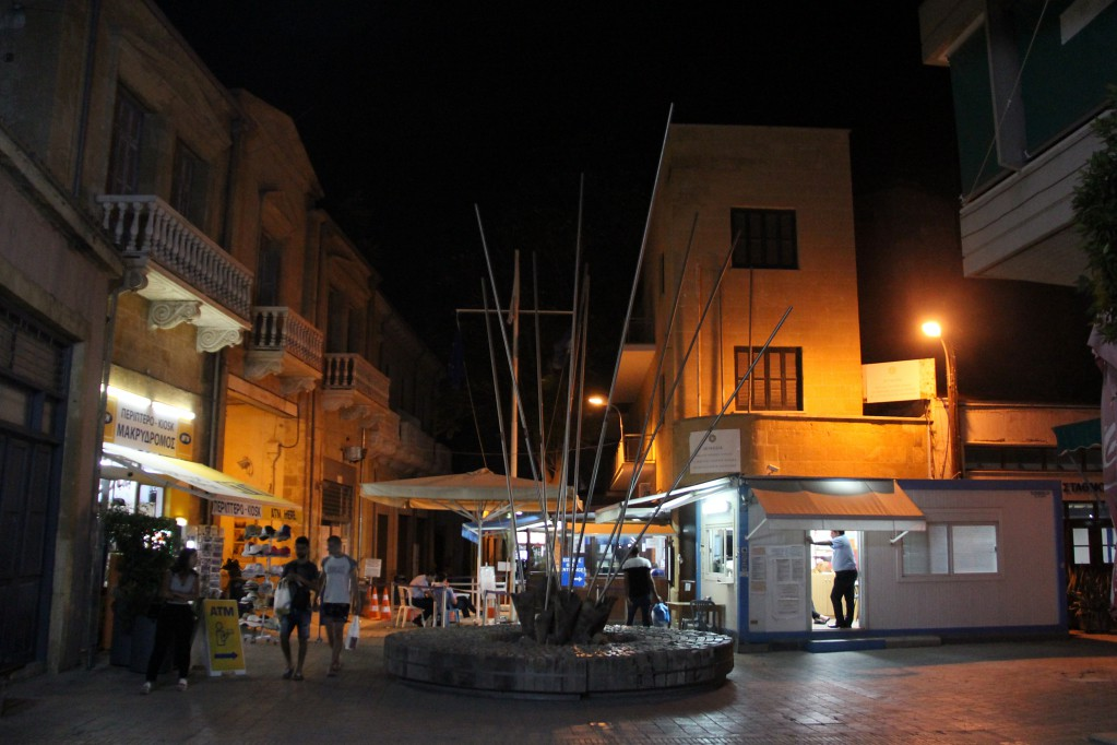 Никосия - переходим границу под покровом ночи