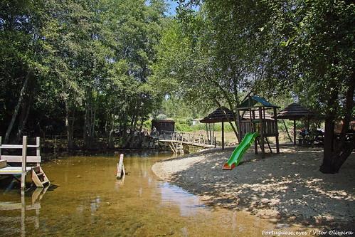 Praia Fluvial de Corvos à Nogueira - Portugal 🇵🇹