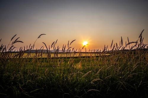 Skagit Sunset over Orcas Island-001