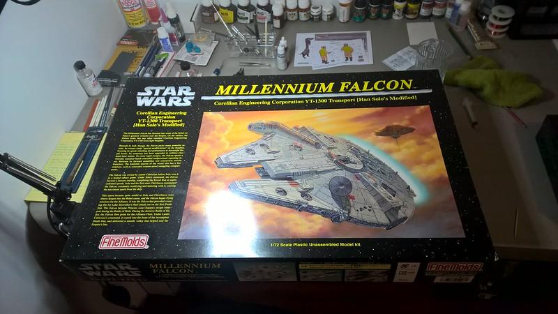 Millennium Falcon 8