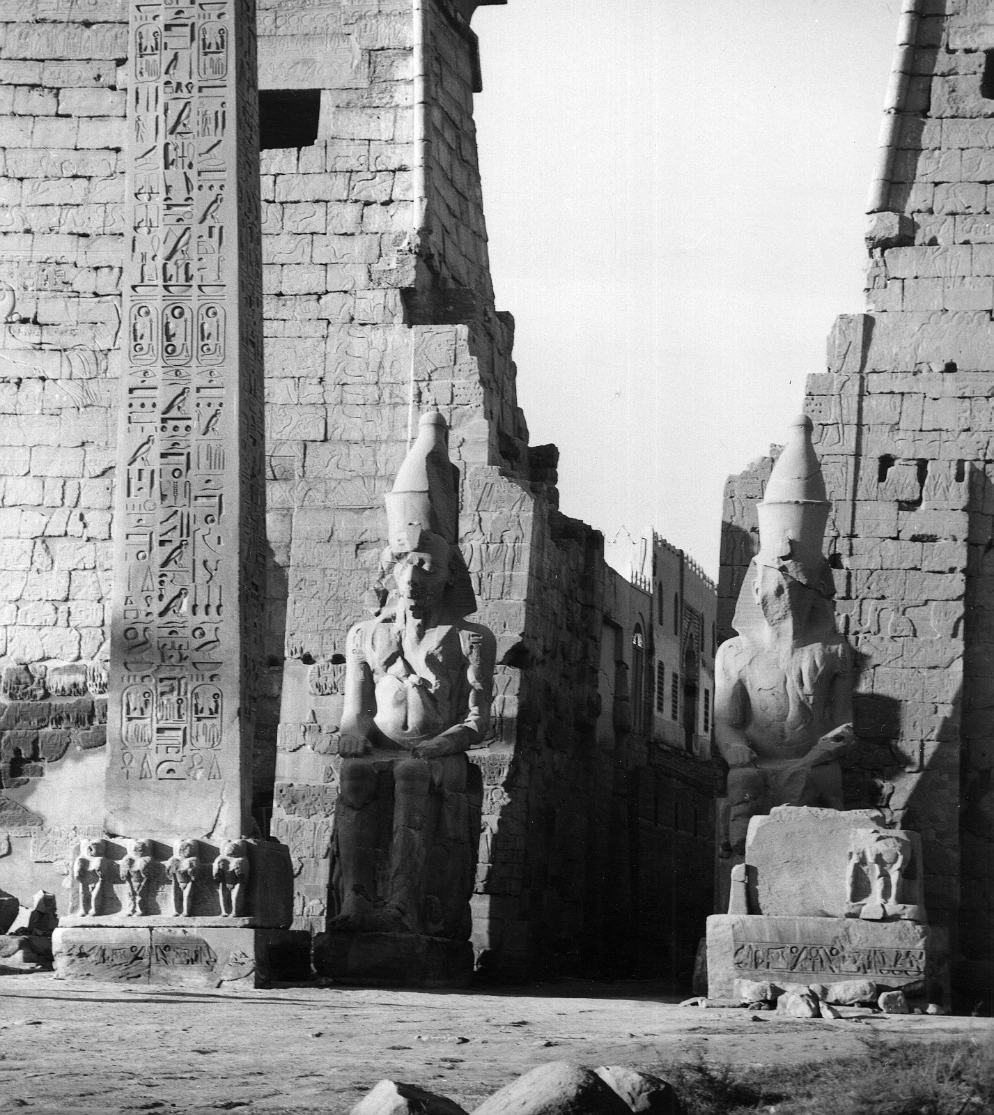 Луксор. Пилон Рамзеса II.