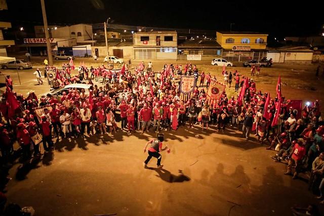 Marcha Lula Livre une cultura e política