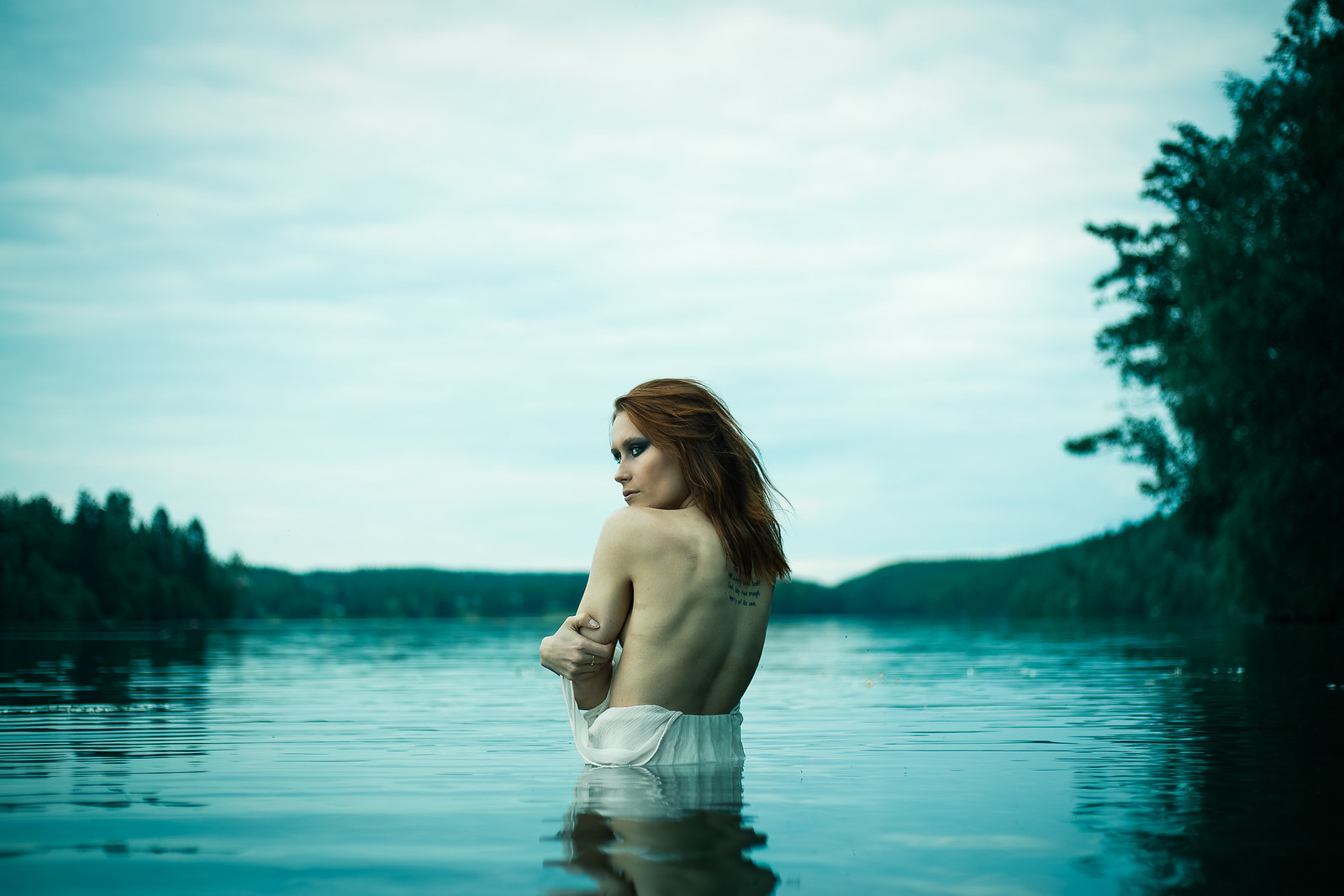 Maiden of the lake