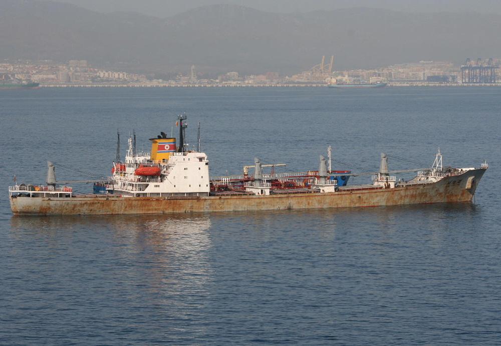 North Korean freighter Chongchongang
