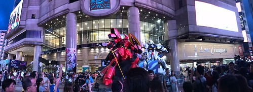 Gundam Docks Hong Kong III 2018