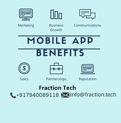 The Benefits of Mobile Applications for business