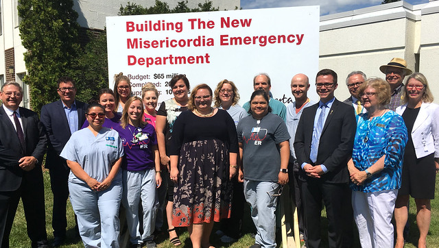 New, larger Misericordia emergency department