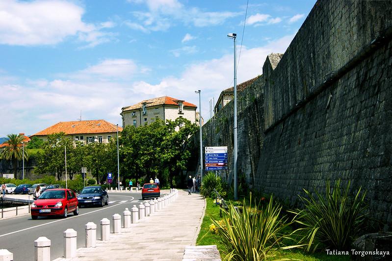 Городская стена в Которе